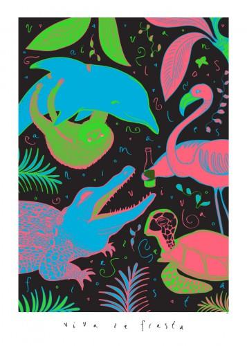 Poster designad av Anna Dormer Volgsten