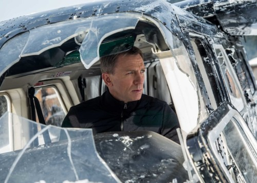 "I TOLD YOU TO TURN THAT MUSIC DOWN Sam Smith (not pictured) will sing the theme song for ""Spectre,"" the fourth James Bond movie to star Daniel Craig (pictured). Smith joins a long and illustrious list of crooners to warble for our favorite MI6 agent. ""Spectre"" opens Nov. 6. Photo: Courtesy of Sony Pictures Entertainment"
