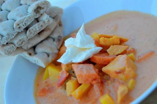 recept laxsoppa grädde