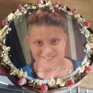 Andy tårta