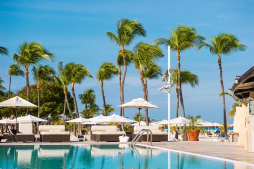 Bucuti Beach Resort Pool Stylist: Agneta Renebo.
